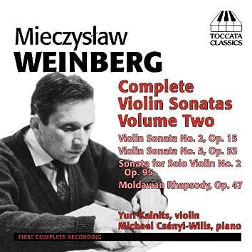 Weinberg: Complete Violin Sonatas, Vol. 2