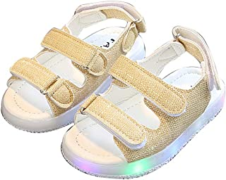 LED Kids Boys Girls Shoes Casual Light up Luminous Baby Sport Sneakers