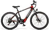 MQJ Ebikes 250W Bicicleta Eléctrica, Movible 36V8Ah Batería de Litio, E-Mtb Bicicleta Todo Terreno para Hombres Y Mujeres/Adulto 26 Pulgadas Bicicleta Eléctrica de Montaña