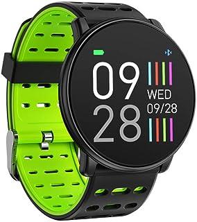 HZYYZH La Actividad De Seguimiento De La Frecuencia Cardíaca Brazalete De Monitoreo Inteligente De 1,3 Pulgadas De Alta Definición 2.5D Relojes Inteligentes De Los Hombres Y De Las Mujeres,Verde