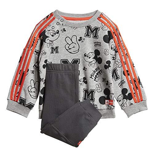 adidas Inf Dy Mm Jog Chándal, Unisex bebé, Top:Medium Grey Heather/Semi Solar...