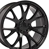OE Wheels LLC 20 inch Rim Fits Dodge Challenger Hellcat Wheel DG15 20x9 Satin Wheel Hollander 2528