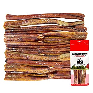 Downtown Pet Supply 6 and 12 inch Jumbo Extra Thick USA Bully Sticks for Dogs (Bulk Bags by Weight) – All Natural American Dog Dental Chew Treats, High in Protein, Great Alternative to Rawhides