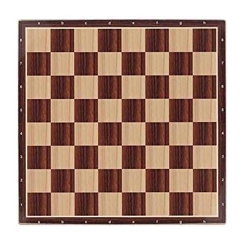 Aquamarine Games- Tablero de ajedrez y Parchís 40x40 cm, Miscelanea (Fabricante CP029)