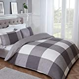 Sleepdown - Set di biancheria da letto con copripiumino e federa, 135 x 200 cm, in policot...