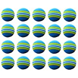 WINOMO 20pcs Golf Swing Training Aids Indoor Practice Sponge Foam Balls for Beginners