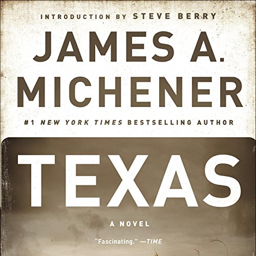 Texas audiobook cover art