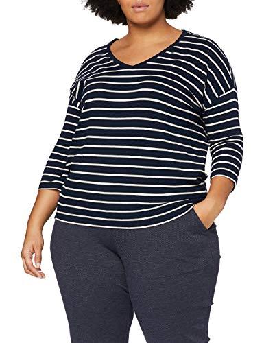 Tom Tailor Streifen Camiseta, Navy 24830-Juego de Mesa de Cocina, XS para...
