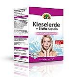 SUNLIFE Kieselerde + Biotin Kapseln: Für Haut, Haare und Nägel, mit Zink, Calcium und Vitamin D3, 128 Kapseln