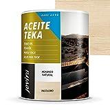 ACEITE TEKA AL AGUA Protección y restauración de la madera Teca en intemperie. (750 ml, INCOLORO)