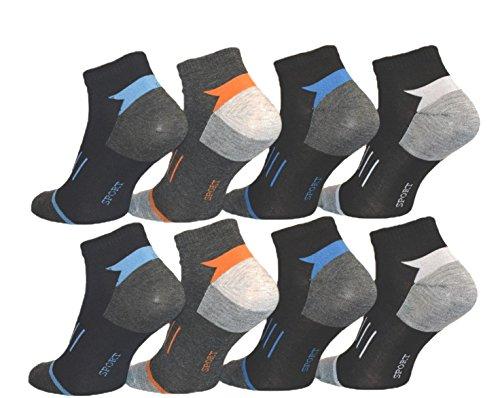 10 Paar Herren Sneaker Socken von Pesail Größe 39-46 (43-46)