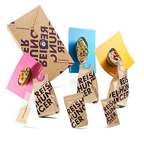Reishunger Tasty Box - 3 einfache und leckere Reis Gerichte zum Selbermachen - Ideal für Einsteiger