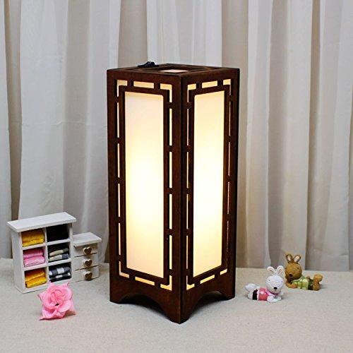 motes uvar Decoración objetos Mode Creative Lighting Retro–Madera–Luz nocturna hueca lámpara pared Proyección con Pasillo
