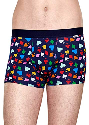 Happy SOCKS CRD87 Cards Trunk Boxer Heren ondergoed Fantasia speelkaarten maat S