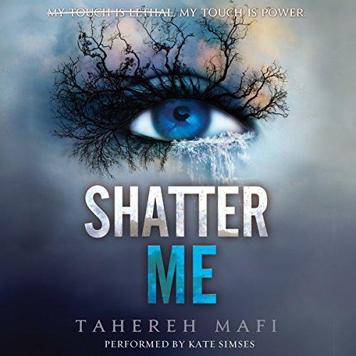 Shatter Me audiobook cover art
