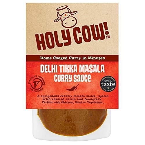Holy Cow! Salsa de curry Tikka Masala 250 g (Pack de 6)