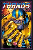 Marvel Thanos Infinity Gems Graphic: Notebook Planner -6x9 inch Daily Planner Journal, To Do List Notebook, Daily Organizer, 114 Pages