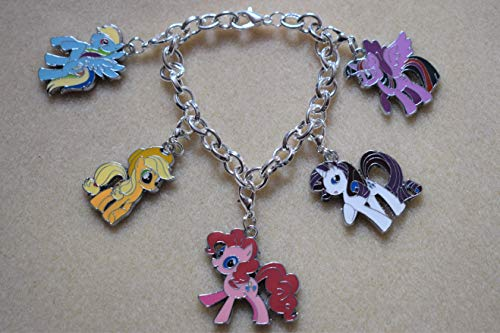 My Little Pony Charm Bracelet Silver Plated