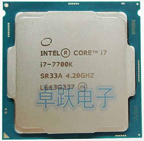 7 Series Processor I7 7700K I7-7700K CPU 91W LGA 1151 14 nanometers Quad-Core CPU