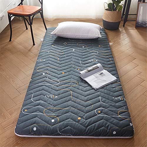 TGBY Plegable Color sólido colchón Suelo Tatami Antideslizante Japonesa Tradicional Colchón De Piso Acolchado Comodo futón Estera para Estudiante Dormitorio EtcD-90x200cm(35x79inch)
