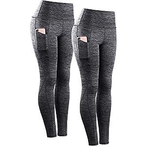 Women's Yoga Pant Running Workout Leggings with Pocket