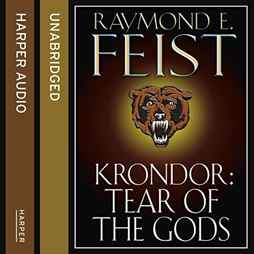 Krondor: Tear of the Gods cover art