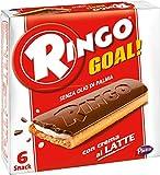 Pavesi - Ringo Goal al Latte - 2 confezioni da 6 Snack (168 g) [12 Snack,336 g]