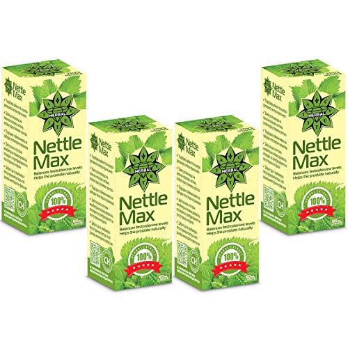 Cvetita Kruiden, Brandnetel Wortel Max, Vloeibare Kruidenextract, Kracht van Spieren & Endurantie, Potente Antioxidant, Verhoogt Testosteron, Bevordert Prostaat Gezondheid 400ml
