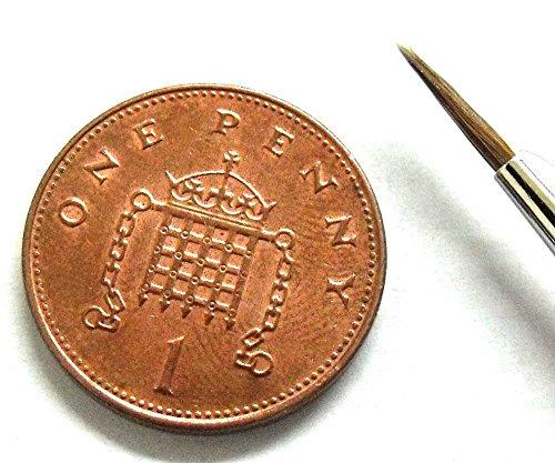Springer Pinsel Springer pinsel3338–1Dreikant Aquarells Pinsel mit Kolinsky Haar (Größe 1)