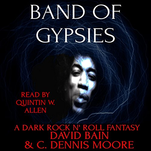 Band of Gypsies: A Dark Rock n' Roll Fantasy audiobook cover art
