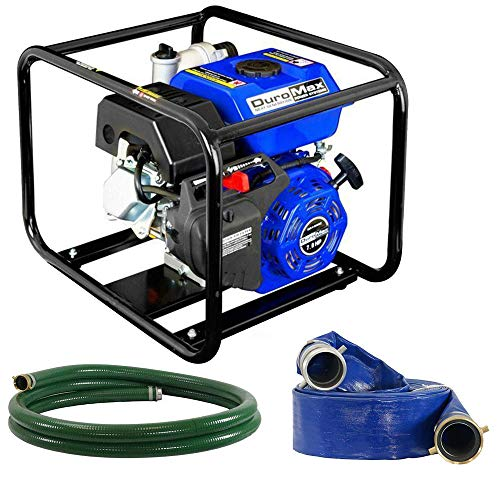 DuroMax XP650WP-LHK 7 HP 220 GPM 3600 RPM 3' Gas Engine Water Pump Kit