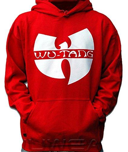 Wu Wear Wu-Tang Logo Hoody Red Wu-Tang Clan M-XXL(M)