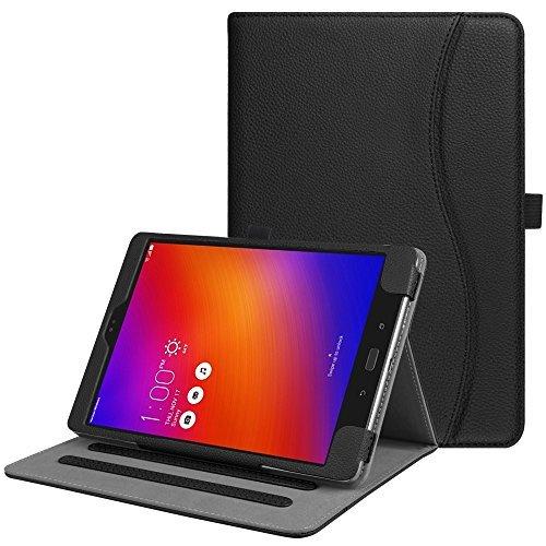 Funda para Asus ZenPad 3S 10 Z500M / ZenPad Z10 ZT500KL - Funda con función atril para tablet ZenPad 3S 10 / Verizon Z10 de 9,7', color negro