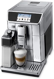 De'Longhi Primadonna Elite Experience Fully Automatic Coffee Machine, ECAM65085MS, Black/Silver