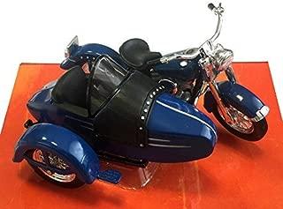 1952 Harley-Davidson FL Hydra Glide with sidecar [Maisto 32420], Blue, 1:18 Die Cast by Maisto