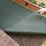 アストロ 防草シート 1×5m グリーン 不織布 厚手 高透水 UV耐候剤配合 高耐久 602-21