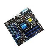 Newwiee Fit for Socket LGA ASUS P5G41C-M LX Placa Base de Escritorio Placa Base de Servidor G41 Socket LGA 775 Q8200 Q8300 DDR2 DDR3 8G Uatx BIOS Mainboard