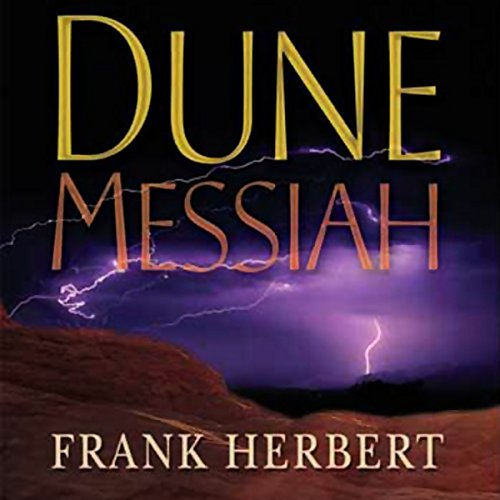 Dune Messiah audiobook cover art