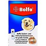 BOLFO Flohschutzband braun f.große Hunde 1 St