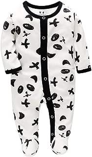 12Mois-6Ans Posional T-Shirt Bodysuit Combinaison Nouveau-n/é B/éb/é Tatouage Manches Lettre Tatouage Imprim/é /À Manches Longues V/êtement Costume Blanc,Noir Patchwork Coton Stitch