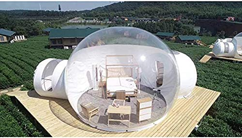 NZYMD Inflatable Transparent Dome Tent-Bubble Igloo with Air Blower Inflatable for Advertising Wedding Festival Event Exhibition