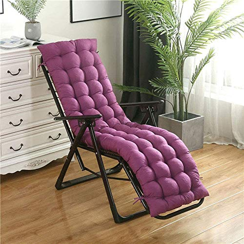 Hao-zhuokun Sun Lounger Cojines Lounge Chair Cojín Portátil para jardín Sun Lounger Interior Outdoor (Solo COJÍN)