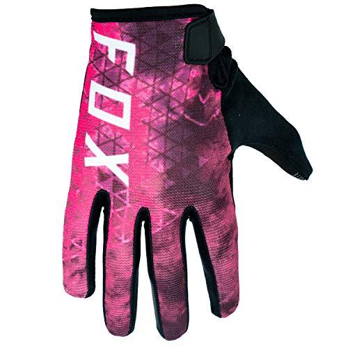 Fox Ranger Glove Fahrrad Handschuhe Schwarz (Pink, S)