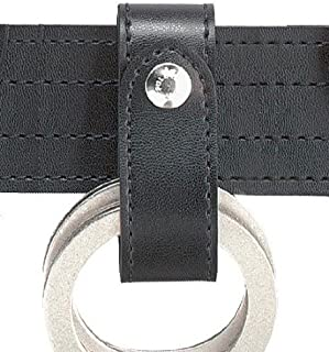 Safariland 690 Handcuff Strap, Single Snap, Black, Plain