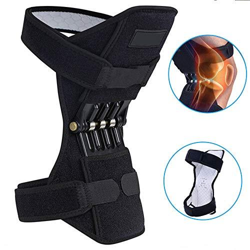 HGJDKSJ Knee Active Plus, Almohadillas para Las piernas y Las Rodillas, Soporte para Las Rodillas, Rodilleras para Refuerzos, Ok + PC + Resorte, Aumenta la Fuerza de 40 kg, Camina fácil