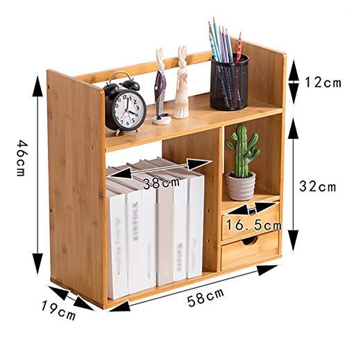 Boîte de Rangement de Bureau Bibliothèque en Bois Type de tiroir de Bureau Boîte de Rangement de Bureau (4 Styles) (Couleur : D2)