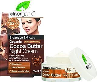 DR ORGANIC Cocoa Butter Night Care Creams, 175g