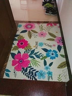 Colorful Cat Art Painting Customized Doormat Entrance Mat Floor Mat Rug Indoor/Front Door/Bathroom/Kitchen and Living Room/Be