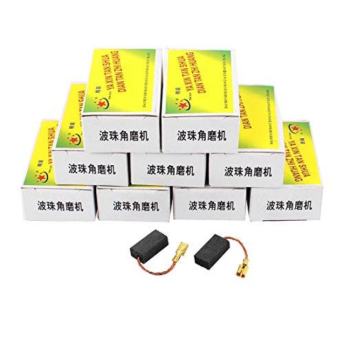 Aexit 10 Paare elektrische 15.5mm x 8mm x 5mm Motor Kohlebürsten für Winkelschleifer (b8c8f73b3b9830931578ddbc643db6bb)
