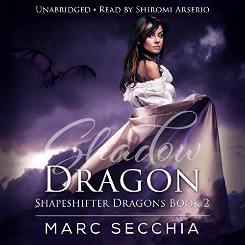 Shadow Dragon audiobook cover art
